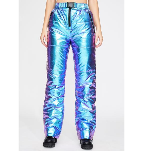 Club Exx Subzero Metallic Snow Pants