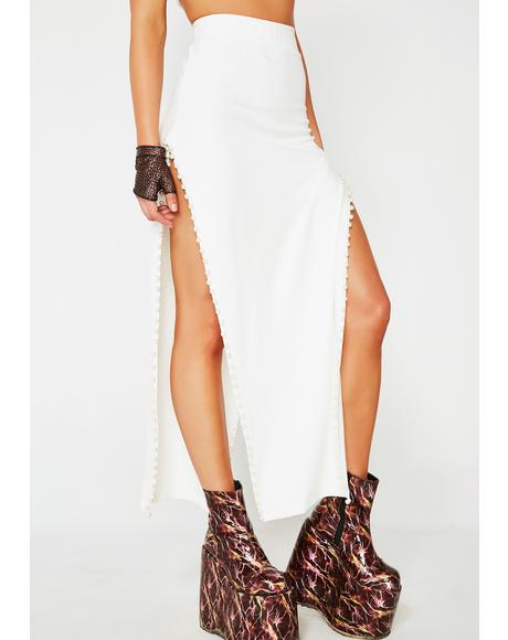 Pure Legz For Daze Double Slit Skirt