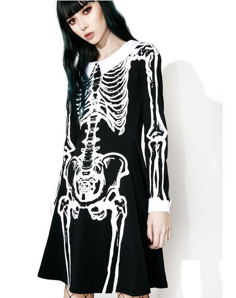 Living Dead Skater Dress