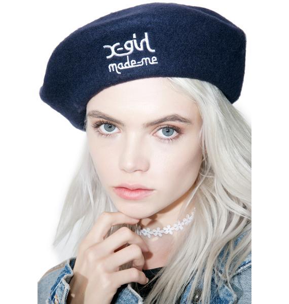 MadeMe x X-Girl Beret