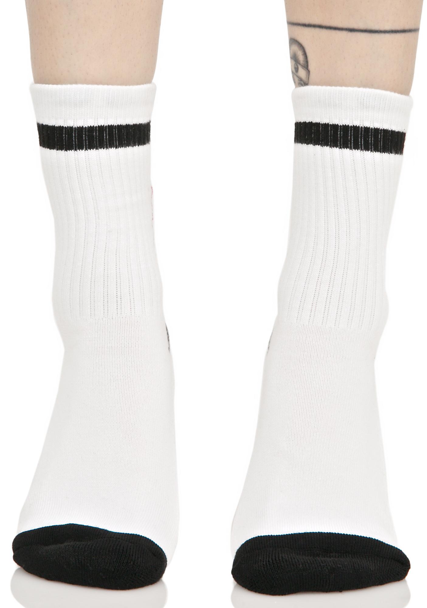 x-Girl Flame Logo Socks