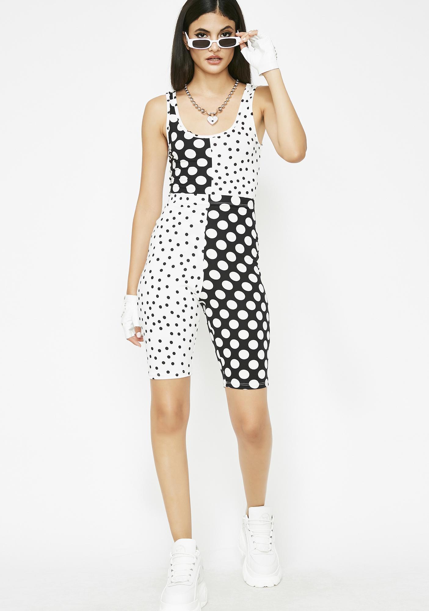 Hot Spot Polka Dot Bodysuit