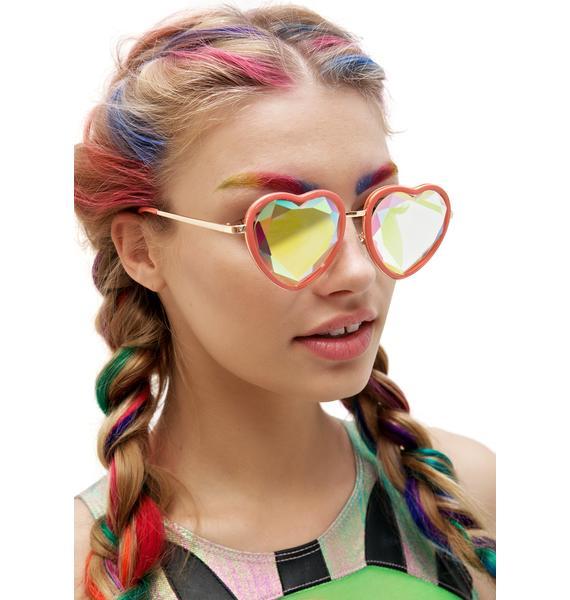 H0les Eyewear BB Heart Sunglasses