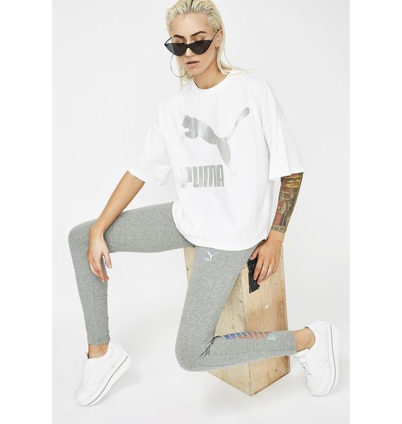 PUMA Ice Glam Oversized Tee