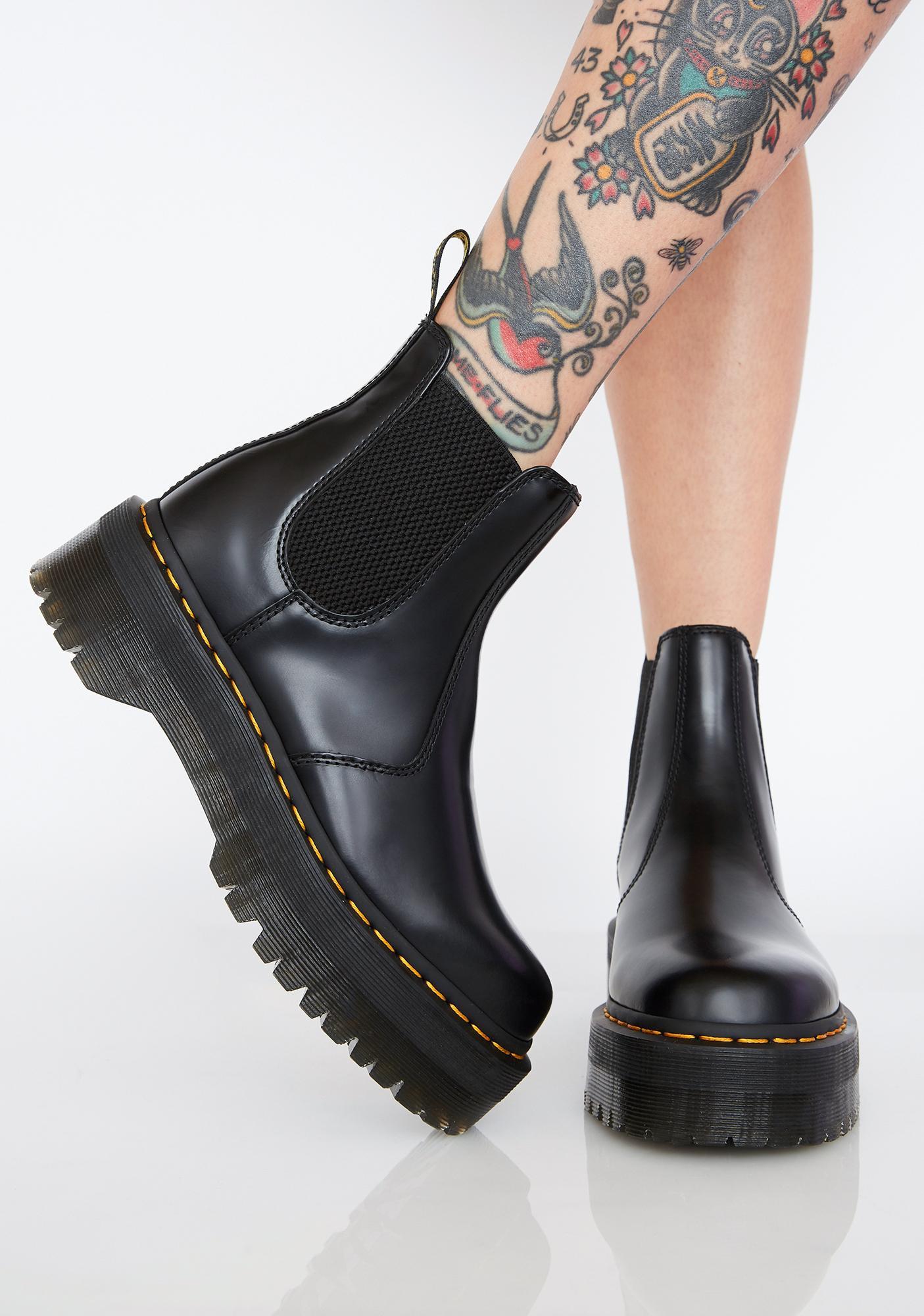 68cc3e6b6bf3 Dr. Martens 2976 Chelsea Quad Boots | Dolls Kill