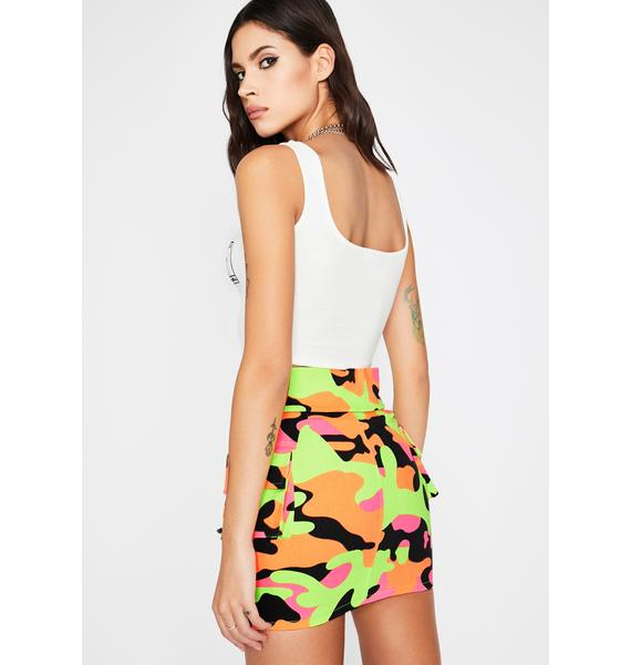 In Plain Sight Mini Skirt