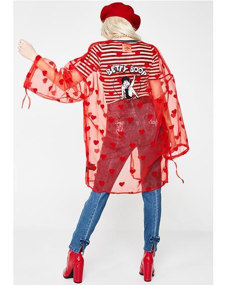 Betty Boop Kimono