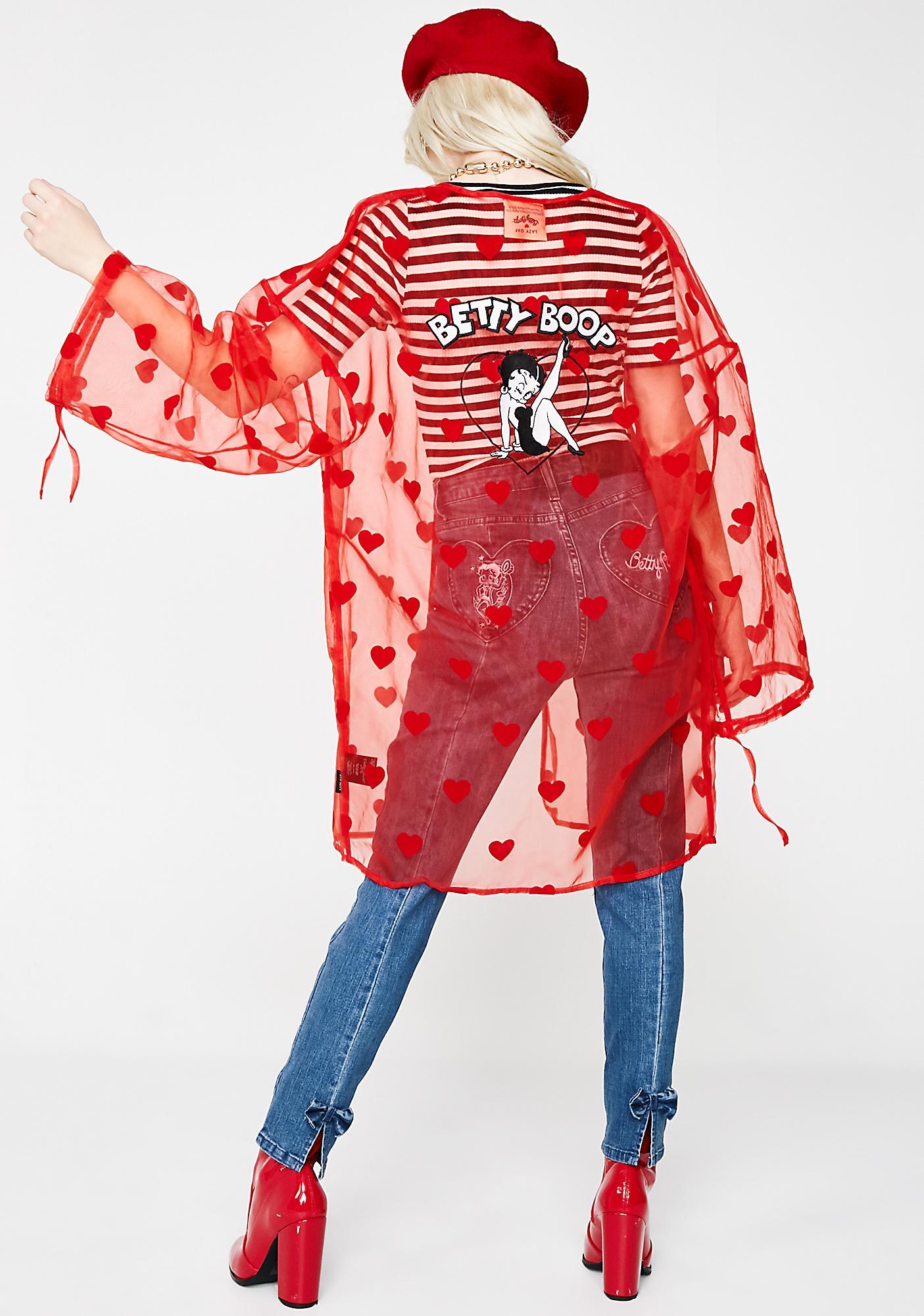Lazy Oaf Betty Boop Kimono