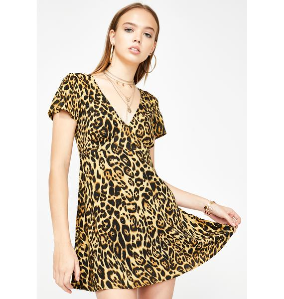 Motel Elara Leopard Dress