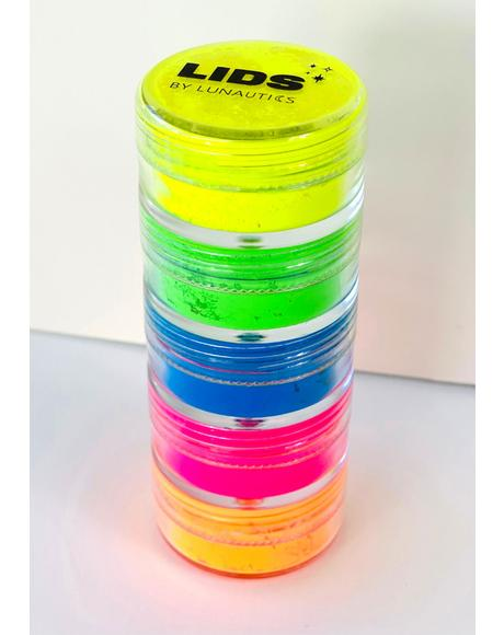 Neon Beats Eye Pigments Set