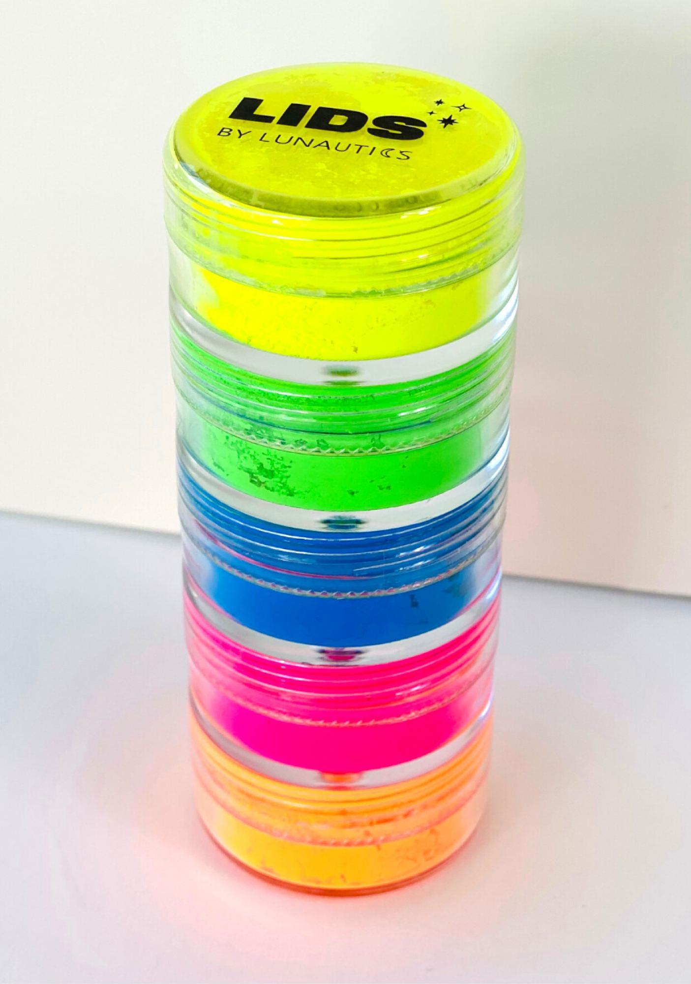 Lunautics Neon Beats Eye Pigments Set