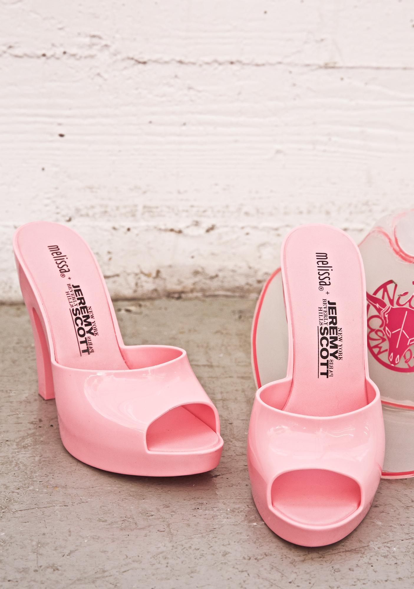 Melissa X Jeremy Scott Inflatable Mules