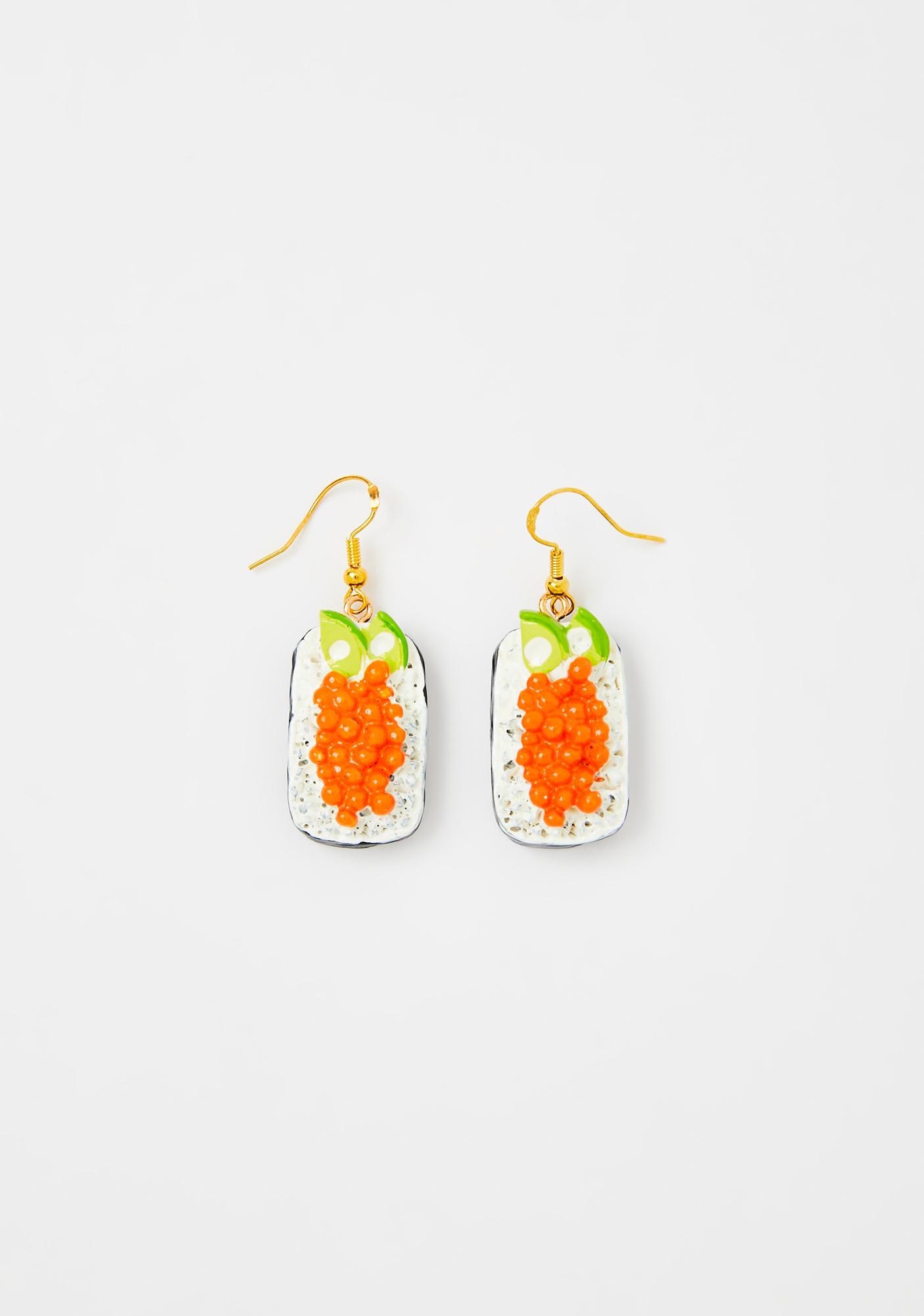 Tasty Roll Sushi Earrings