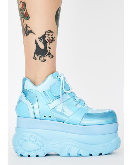 Sky Fairywalker Platform Sneakers
