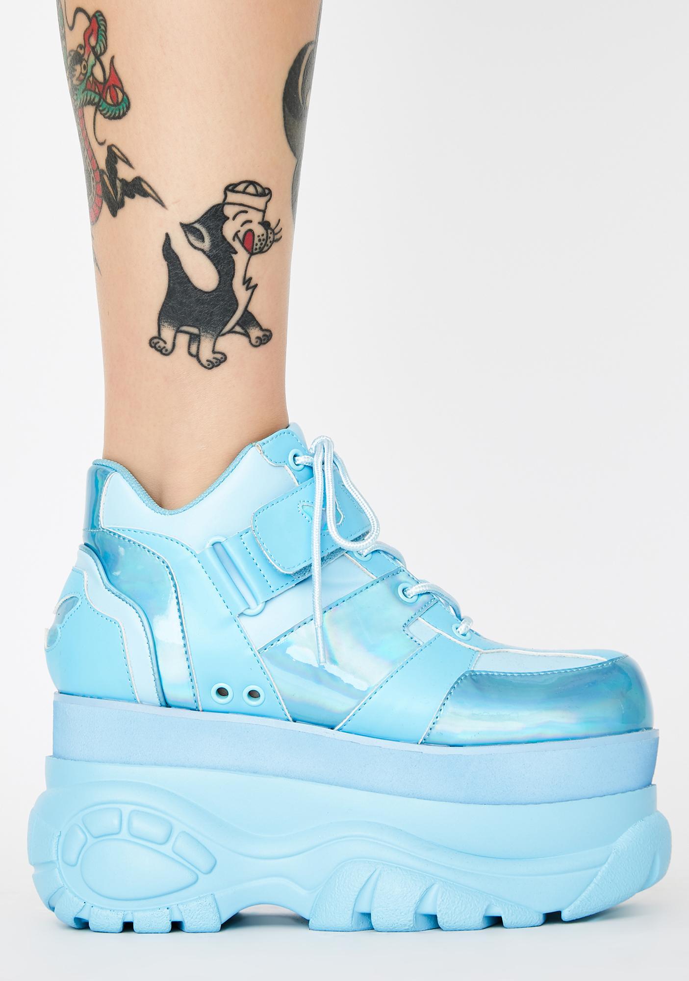 Club Exx Sky Fairywalker Platform Sneakers