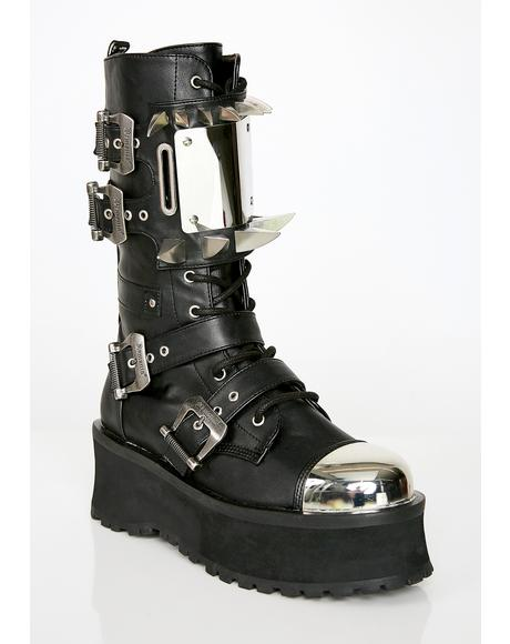 Hell Hunter Unisexx Spike Boots