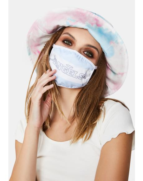 Heaven's Cheerleader Face Mask