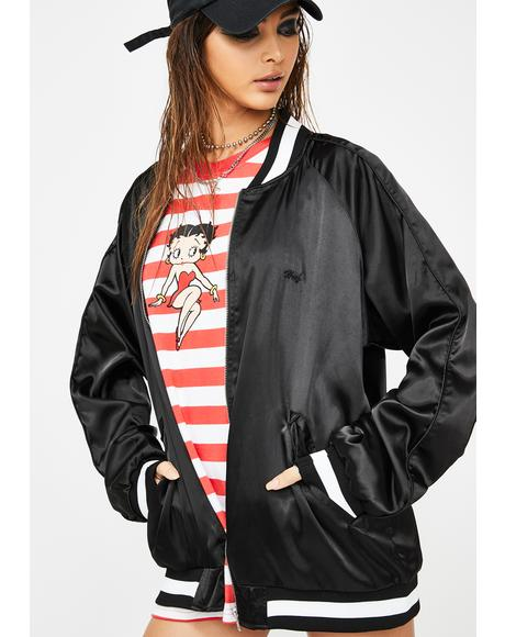 Cigar Club Betty Bomber Jacket