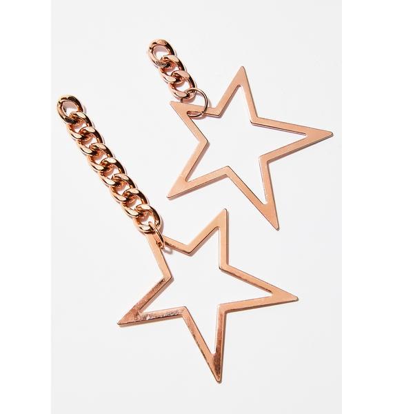 Catch A Falling Star Earrings