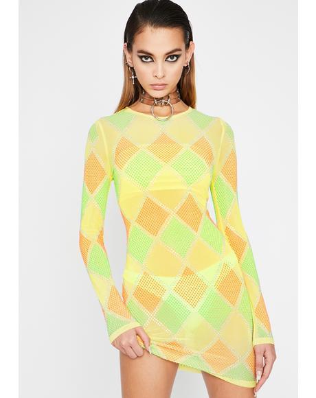 Sunny Diamonds Are Forever Mini Dress