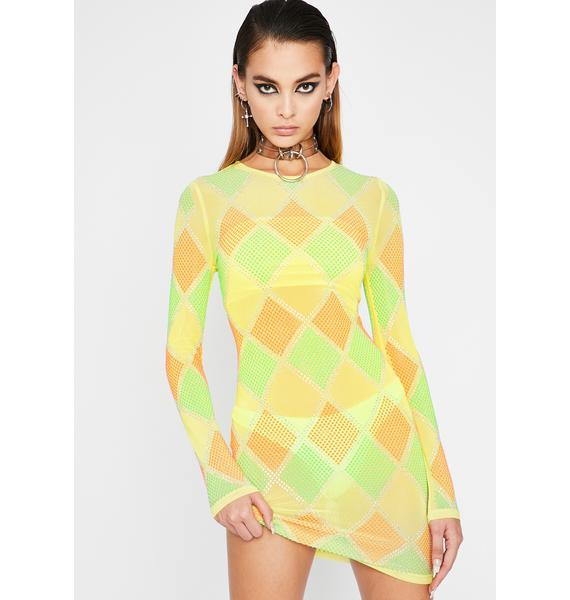 Sunny Diamonds Are Forever Mini Dress