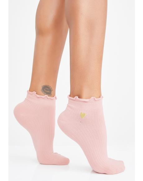 Sweet Heart Times Ankle Socks