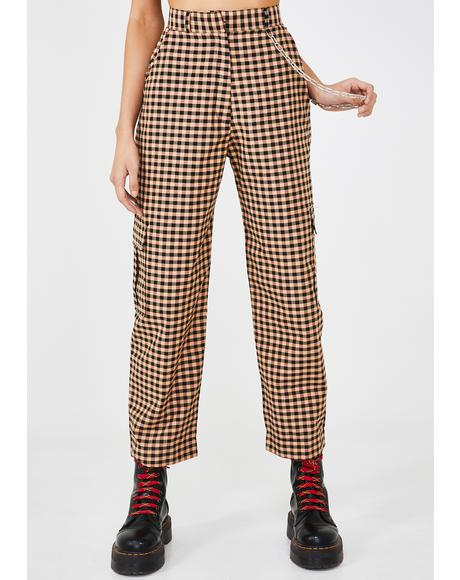 Magma Gingham Pants