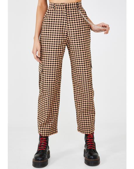 Magma Gingham Pants
