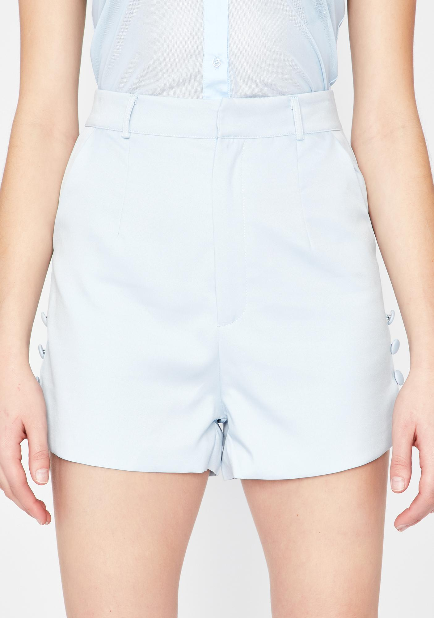 Not A Contest High Waist Shorts