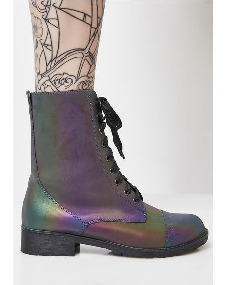 Rainbow Warrior Reflective Boots