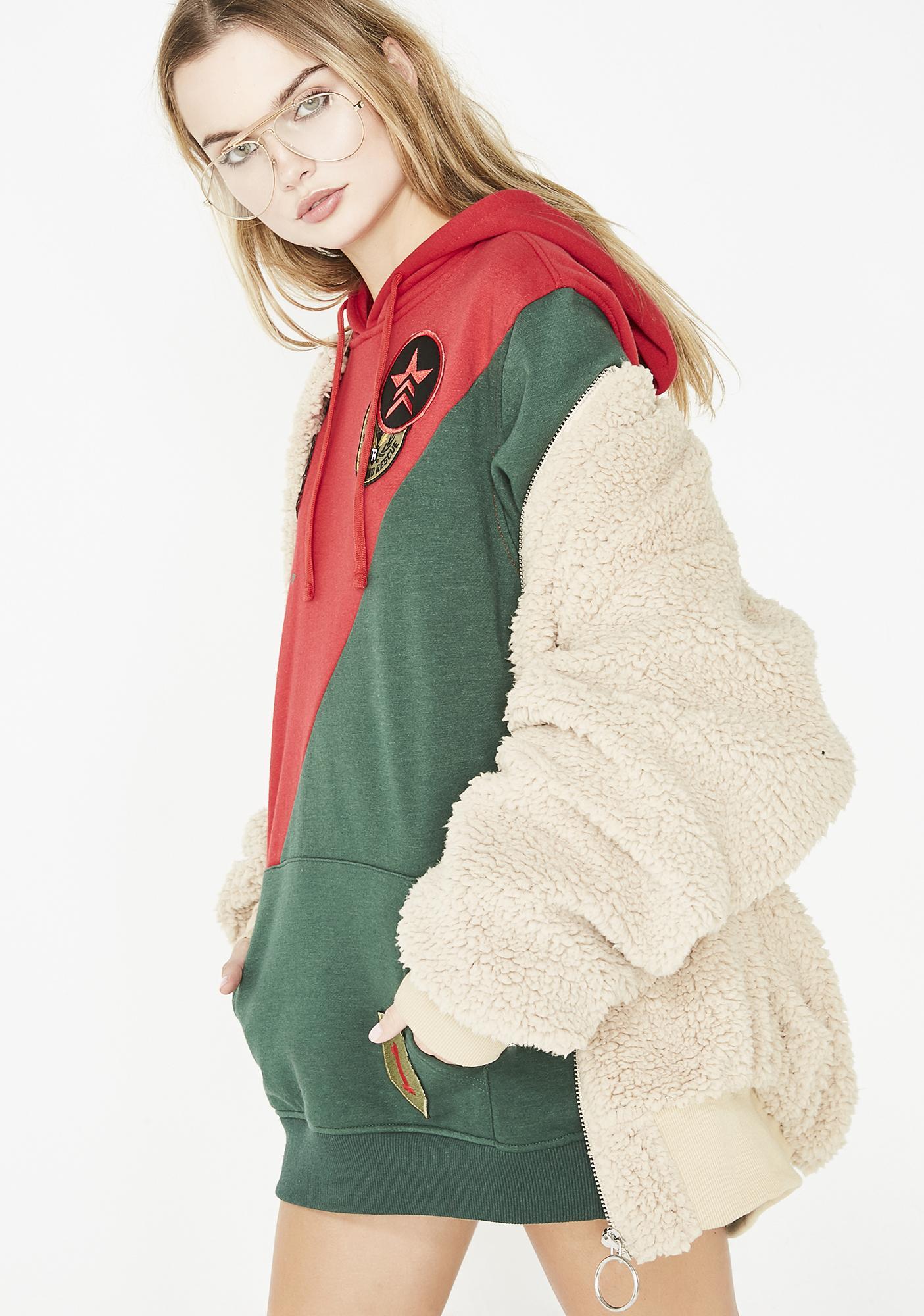 Varsity Vixen Fleece Hoodie