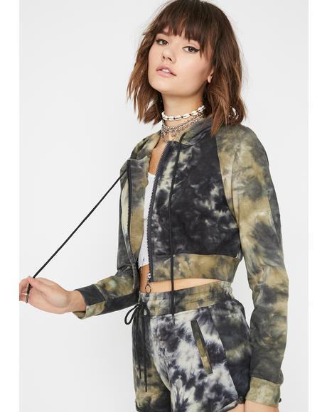 Battlefield Tie Dye Jacket