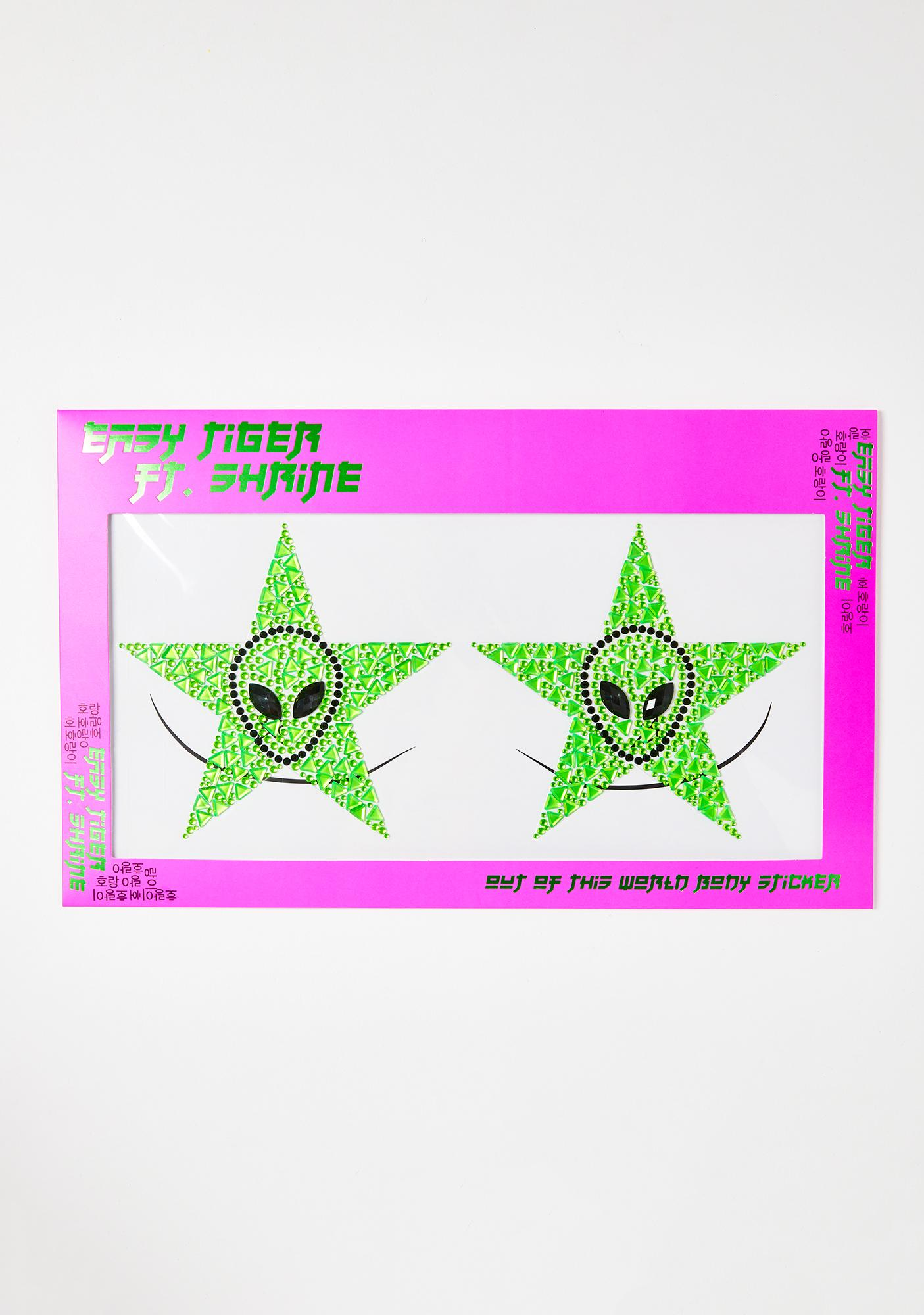 SHRINE Out Of This World Body Stickers