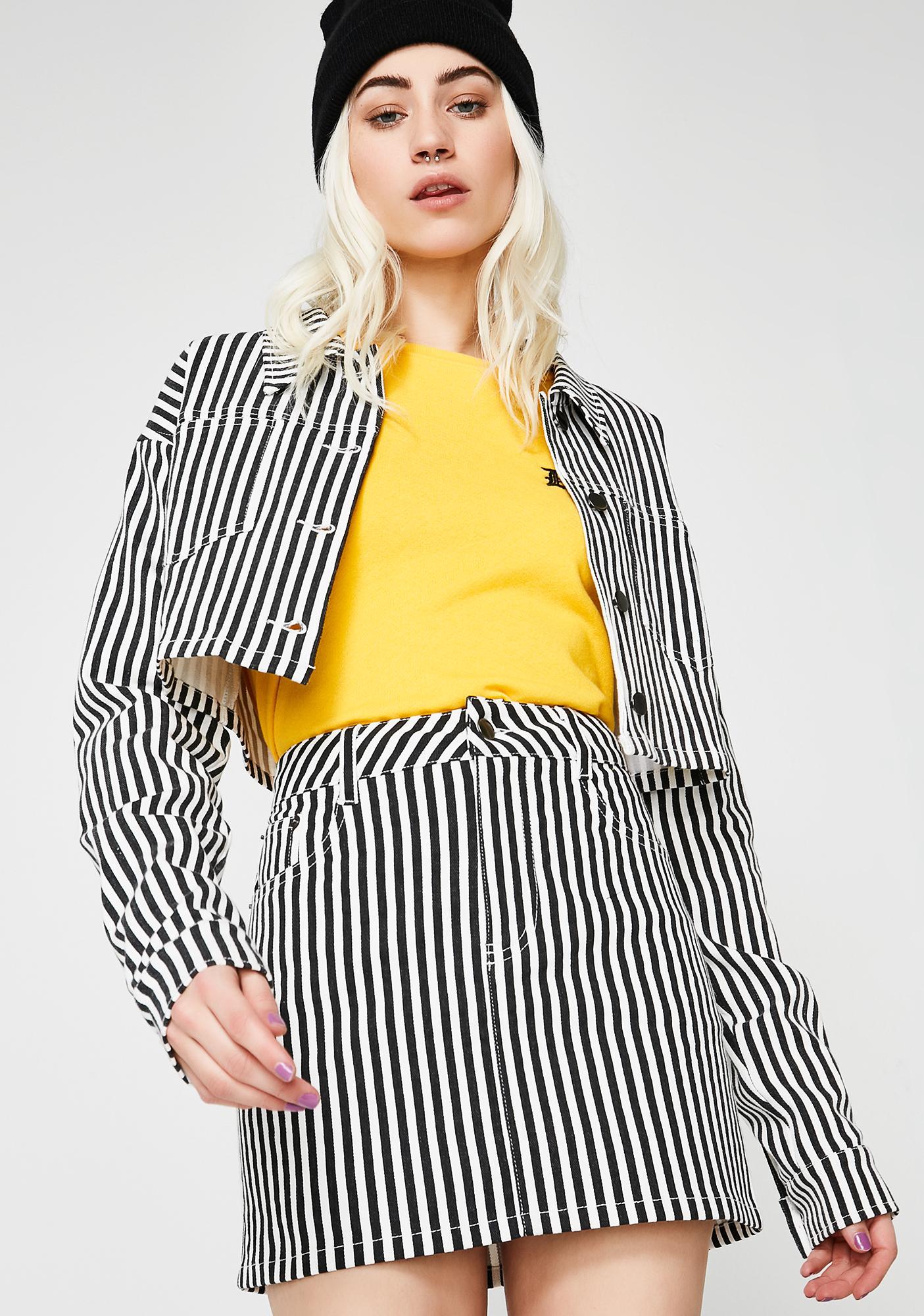 Bottom Line Mini Skirt