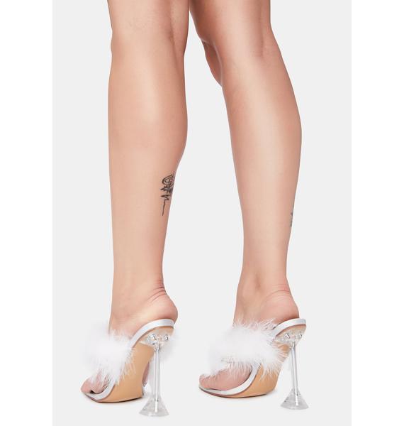 Diva Dividends Marabou Heels
