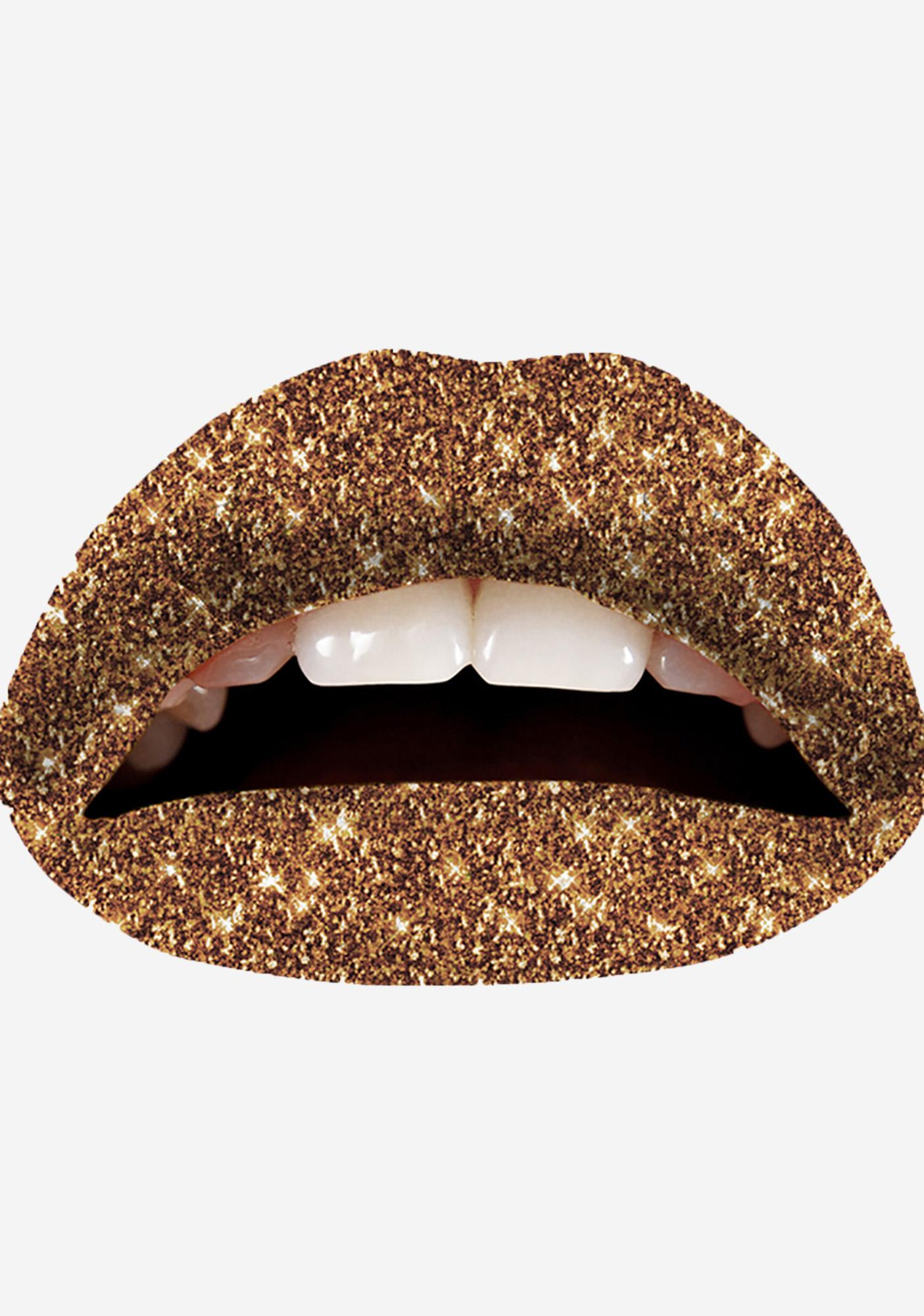 Violent Lips Cinnamon Glitterati Lip Applique