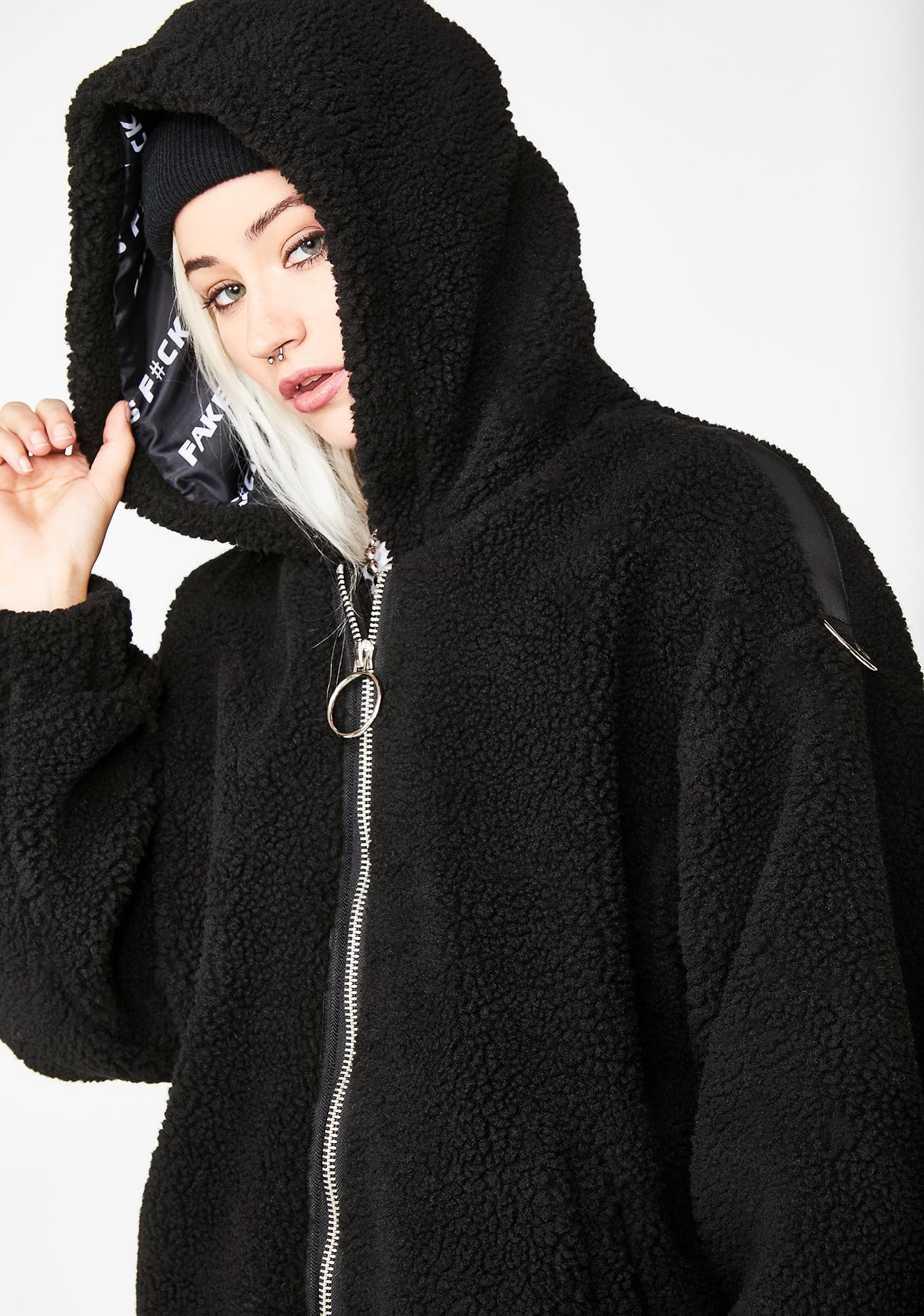 Current Mood So Over It Hooded Jacket