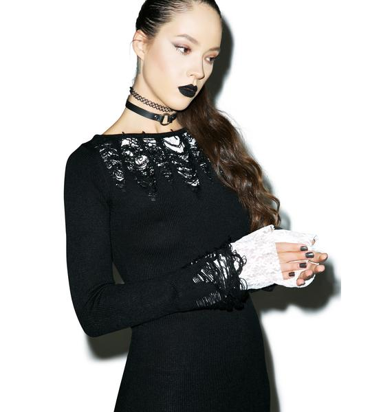 Killstar Lestat Knit Dress
