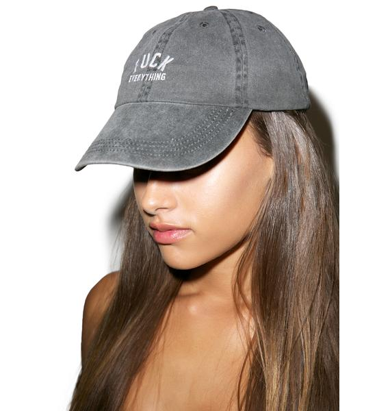 Kill Brand Fuck Everything Logo Cap