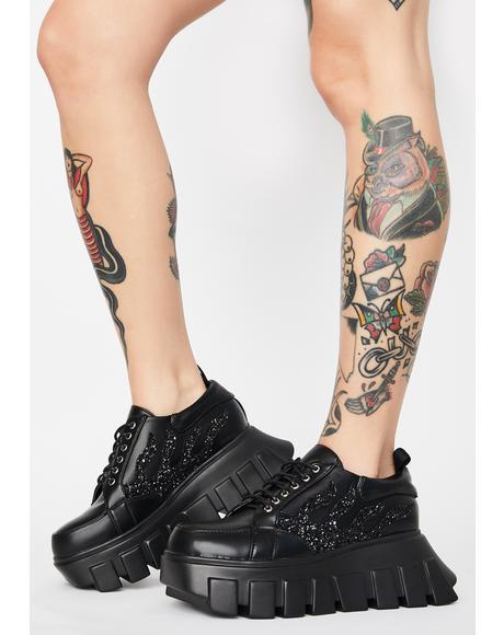 Hellish Hottie Platform Sneaker