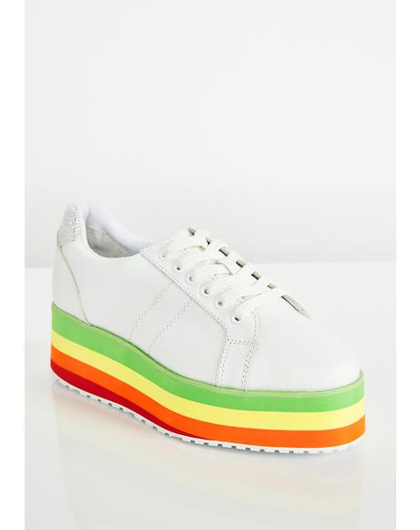 Jukebox Rainbow Sneakers