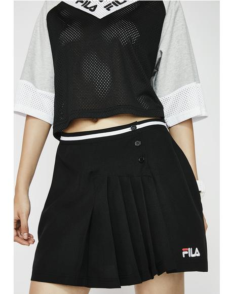 Dark Veronica 2 Pleated Skirt