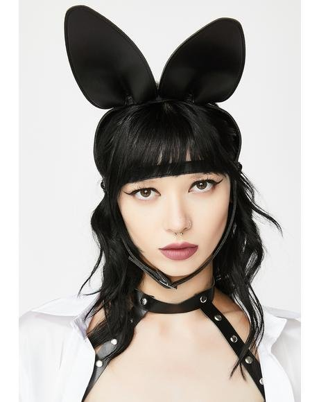 Bad Bunny Ears Mask Harness