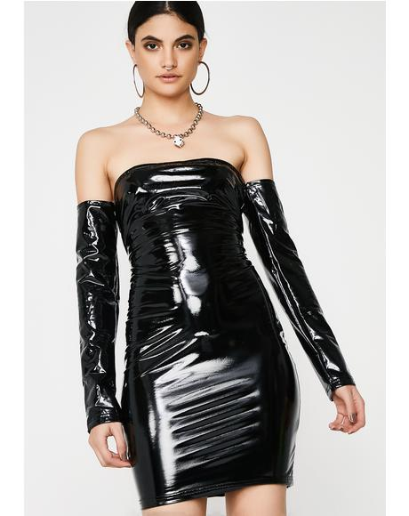 Haute Thang Vinyl Dress
