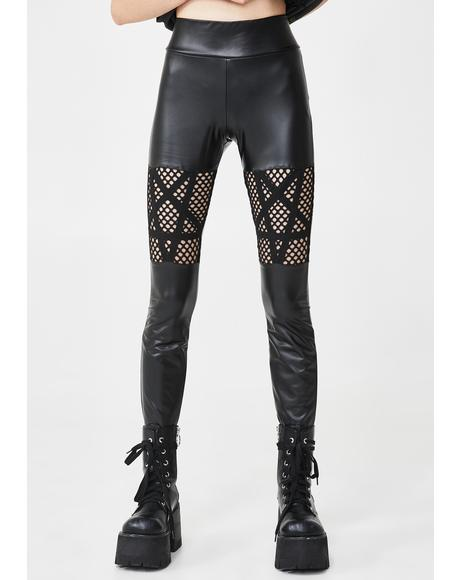 Witchnet Cut Out Leggings