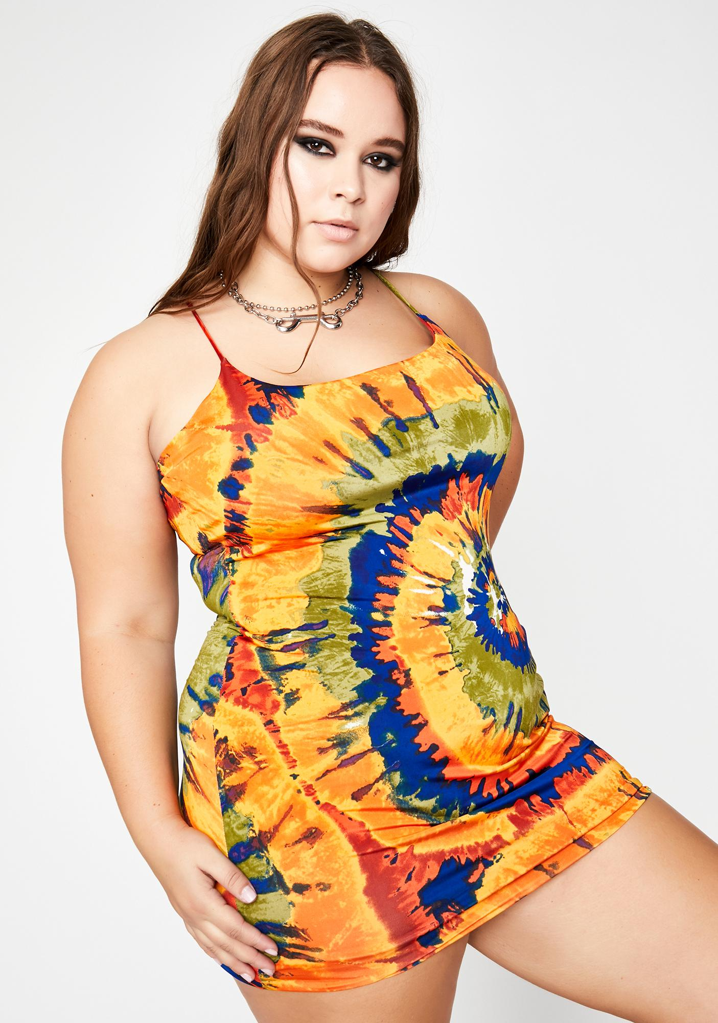 Truly Trippy Like Me Cami Dress