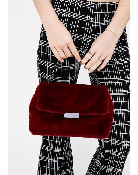 Rich In Love Furry Bag