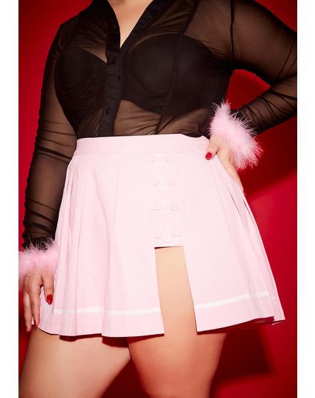 Sassy School Sweetheart Pleated Skirt
