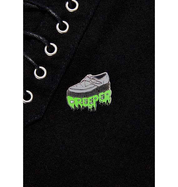 Last Craft Creeper Pin