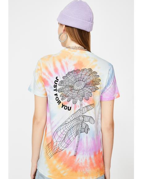 Just For You Tie Dye Tee